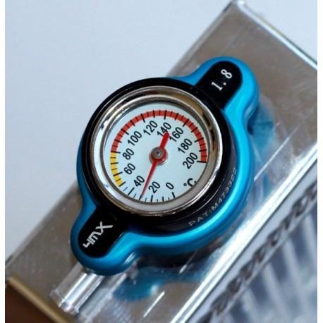 bouchon radiateur 1.8 thermomètre HONDA/KAWASAKI/YAMAHA/SUZUKI